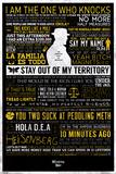 Breaking Bad - Typographic - Poster