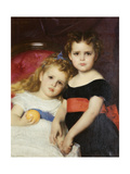 The Sutton Sisters Print by Alexandre		 Cabanel