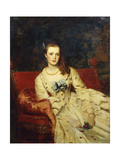 Wandering Thoughts Giclee Print by William Powell		 Frith
