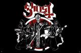 Ghost Metal Poster