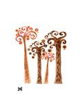 Fall In The Park Reproduction procédé giclée par Natasha Wescoat