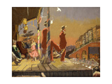 Brighton Pierrots Premium Giclee Print by Walter Richard		 Sickert