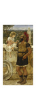 The Centurion's Return Premium Giclee Print by (circle of) John William Godward