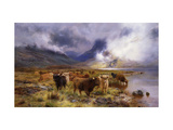 Through Glencoe by Way to the Tay Giclee Print by Louis Bosworth		 Hurt