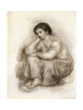 Portrait de Gabrielle Poster by Pierre-Auguste Renoir