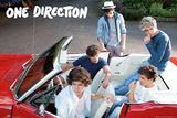 One Direction Car Láminas