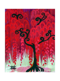 Red Tree I Prints by Natasha Wescoat