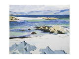 The Sound of Mull from Iona Giclee Print by Francis Campbell Cadell
