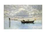 On the Venetian Lagoon Giclee Print by Ciardi Guglielmo