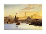 Constantinople Giclée-tryk af Carl Neumann