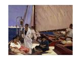 Turkish Ship Giclee Print by Fernand Allard-L'Olivier