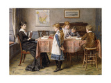 The Lesson Posters by George Goodwin		 Kilburne