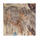 Study of a Lawyer Giclee Print by Honore Daumier