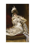 The Loge Giclee Print by Georges Jules Victor		 Clairin