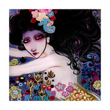 Haunted Siren Giclee Print by Natasha Wescoat