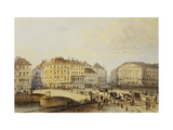 Ferdinandbrucke Giclee Print by (Follower of) Rudolf Alt
