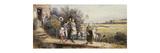 May Day Garlands Premium Giclee Print by Myles Birket Foster