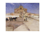 Castello Sant'Angelo, Rome Prints by Eilif		 Peterssen