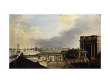A View of Calcutta taken from Fort William Prints by William		 Hodges