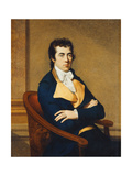 Portrait of Henry Richard Vassall Fox, 3rd Lord Holland (1766-1837) Giclee Print by Francois-Xavier		 Fabre