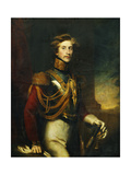 Portrait of Arthur Vansittart, Three-Quarter Length, in the Uniform of the Life Guards Giclee Print by James Godsell		 Middleton