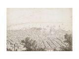 A Panoramic View of Naples Prints by Antonio		 Senape