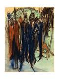 Prostitute, Friedrichstrasse, Berlin (Berlin Street Scene) Posters by Ernst Ludwig Kirchner