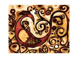 Red Peacock Affiches par Natasha Wescoat