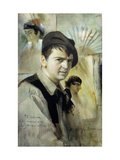 Portrait of the Artist Print by Anders Leonard		 Zorn