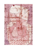 Swiss Clown Print by Paul Klee