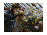 Chrysanthemums Giclee Print by Charles Courtney Curran