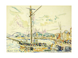 Le Port de Saint-Tropez Giclee Print by Paul		 Signac