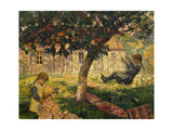 The Swing Giclee Print by Victor Charreton