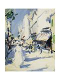 Street in Paris Giclee Print by Samuel John Peploe