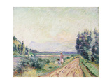 Banks of the Isere at Pontcharra Giclee Print by Armand		 Guillaumin