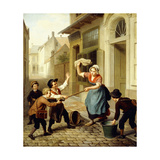 The Pranksters Giclee Print by Basile Loose