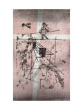 Tightrope Walker Print by Paul Klee