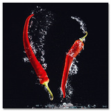 Chilli Splash Posters af Oliver Götz