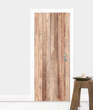 Wooden Wall Door Wallpaper Mural Papier peint