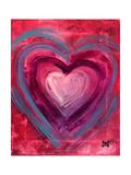 Heart IIII Wydruk giclee autor Natasha Wescoat