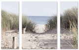 Set Come To The Beach 30x80/60x80 Affiche