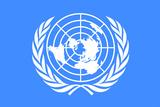 United Nations Flag Plastic Sign Znaki plastikowe