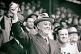 President Franklin Delano Roosevelt First Pitch Poster Photo