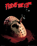 Friday The 13th - Mask Prints