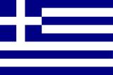 Greece National Flag Plastic Sign Znaki plastikowe