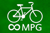 Bicycle Infinity MPG Plastic Sign Plastic Sign
