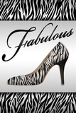 Fabulous Fashion Plastic Sign Wall Sign