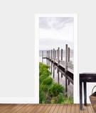 Idyllic Jetty Door Wallpaper Mural Wallpaper Mural