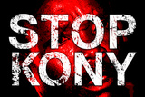 Stop Joseph Kony 2012 Face Political Plastic Sign Plastic Sign