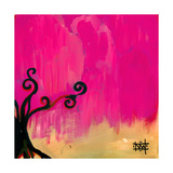 Magenta Tree Giclee Print by Natasha Wescoat
